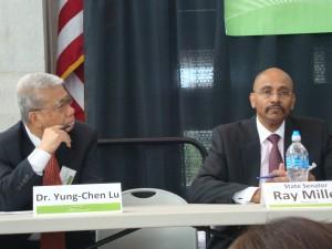 Dr. Yung-Chen Lu & State Sen. Ray Miller